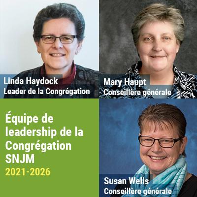 Nouvelle Équipe de leadership de la Congrégation