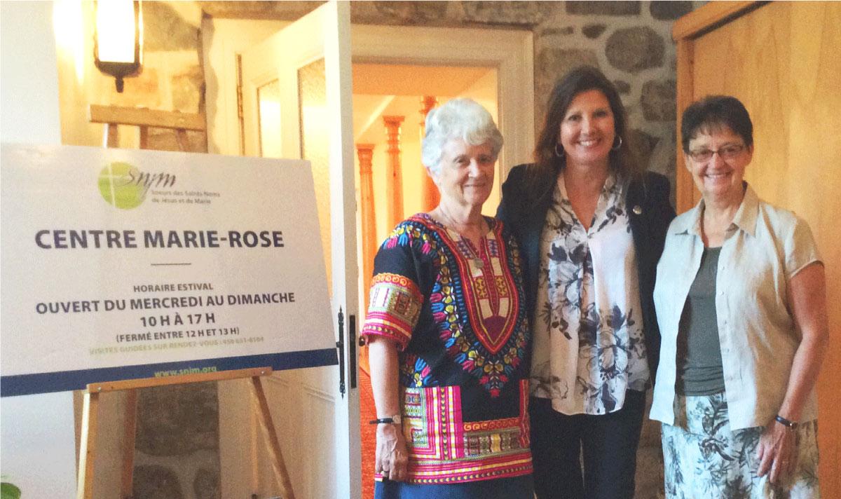 La députée Diane Lamarre clôture une saison très prometteuse au Centre Marie-Rose