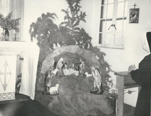 La crèche de Noël au Lesotho